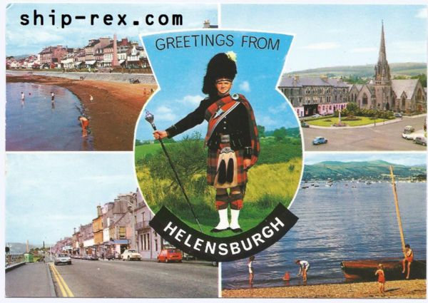Helensburgh - multiview postcard